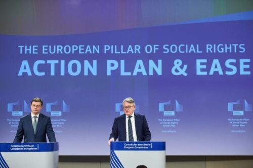 Kommission setzt neue Leitziele für ein soziales Europa bis 2030