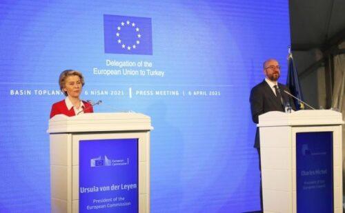 """Von der Leyen in der Türkei: """"Wir streben eine ehrliche Partnerschaft an"""""""