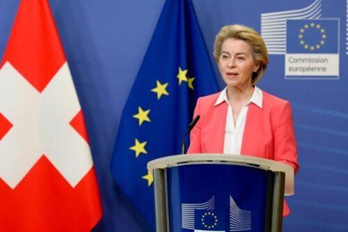 Von der Leyen zum Rahmenabkommen mit der Schweiz: Flexibilität auf beiden Seiten ist nötig
