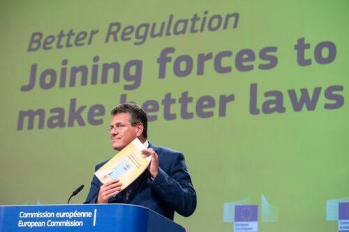 Bessere Rechtssetzung: Kommission treibt Bürokratieabbau voran