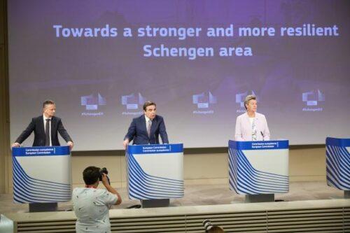 Flüchtlingskrise, Terrorismus, Corona: Europäische Kommission will Schengen-Raum besser für künftige Herausforderungen wappnen