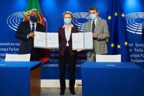 """Verordnung über das digitale COVID-Zertifikat der EU feierlich unterzeichnet: """"Symbol für ein offenes und digitales Europa"""""""