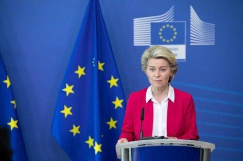 Kommissionspräsidentin von der Leyen fordert Kosovo und Serbien zu Dialog auf
