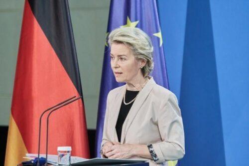 Präsidentin von der Leyen in Berlin: Europäische Kommission billigt deutschen Aufbau- und Resilienzplan