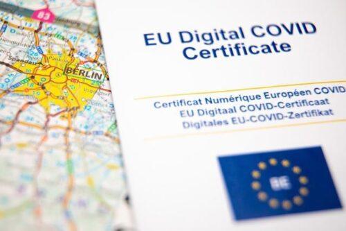Digitales COVID-Zertifikat der EU tritt in Kraft
