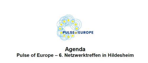 Pulse of Europe – 6. Netzwerktreffen in Hildesheim
