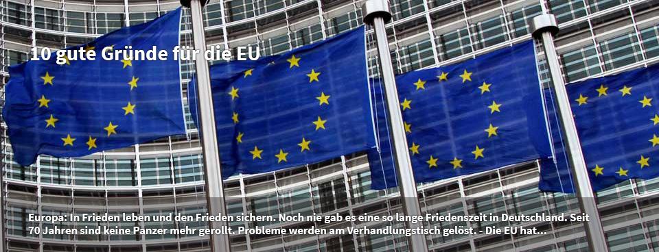 Warum die EU wichtig ist: 10 gute Gründe