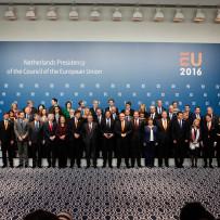 EU-Kommission zum Start der niederländischen EU-Ratspräsidentschaft in Amsterdam und Den Haag