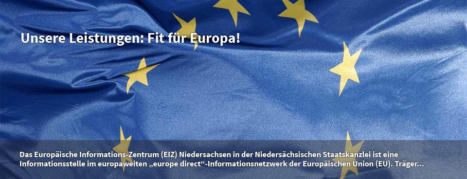 Unsere Leistungen: Fit für Europa!